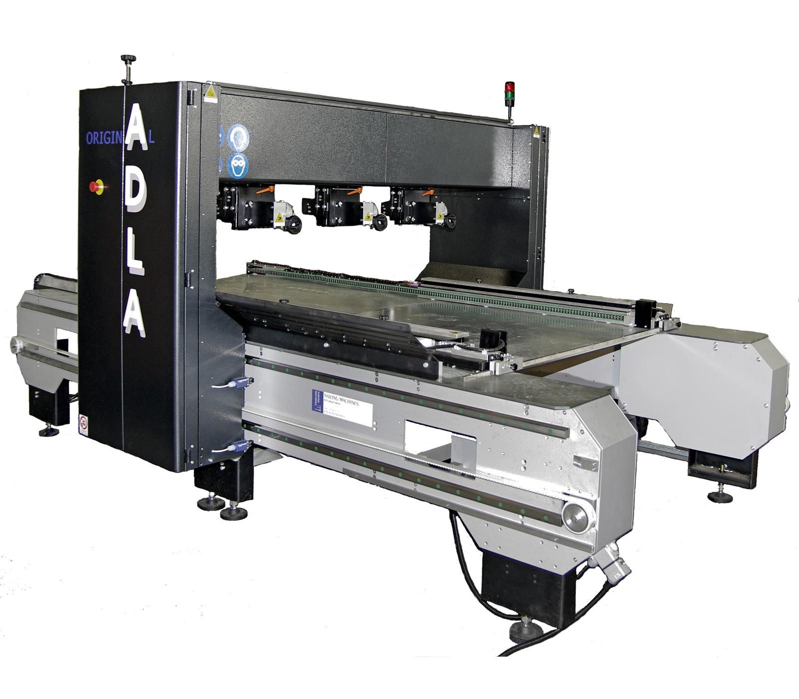 Nailing machines macchina chiodatrice per pallets adla for Macchina da cucire economica